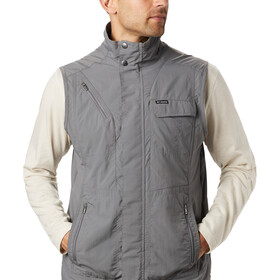 Columbia Silver Ridge II Weste Herren city grey